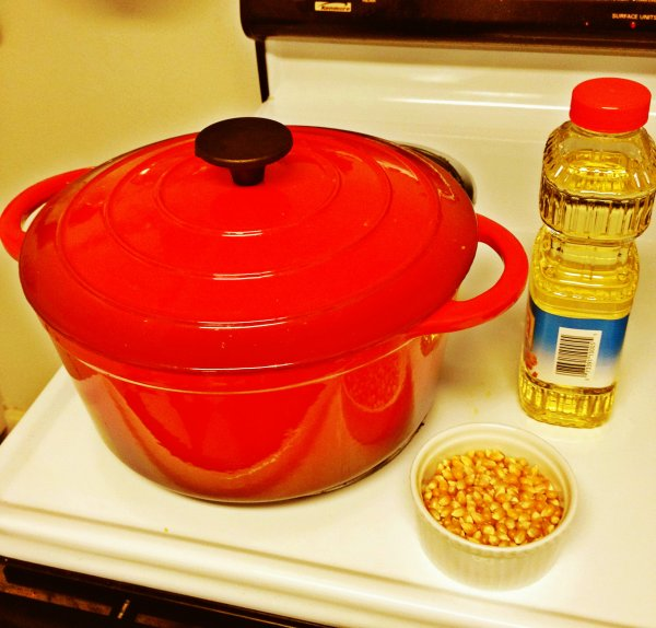 1 Popcorn Stove Ingredients