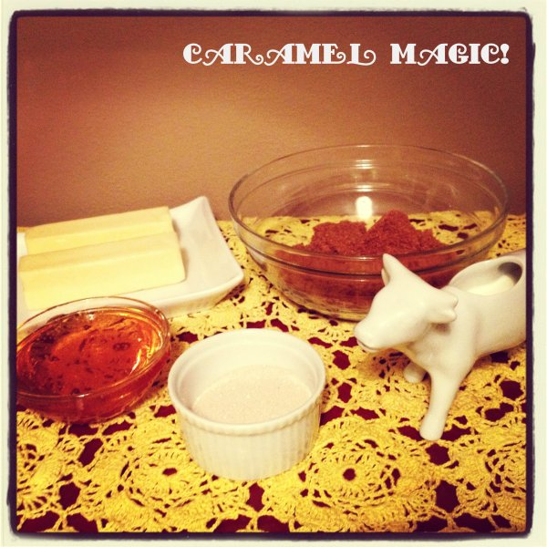 caramel 1 ingredients