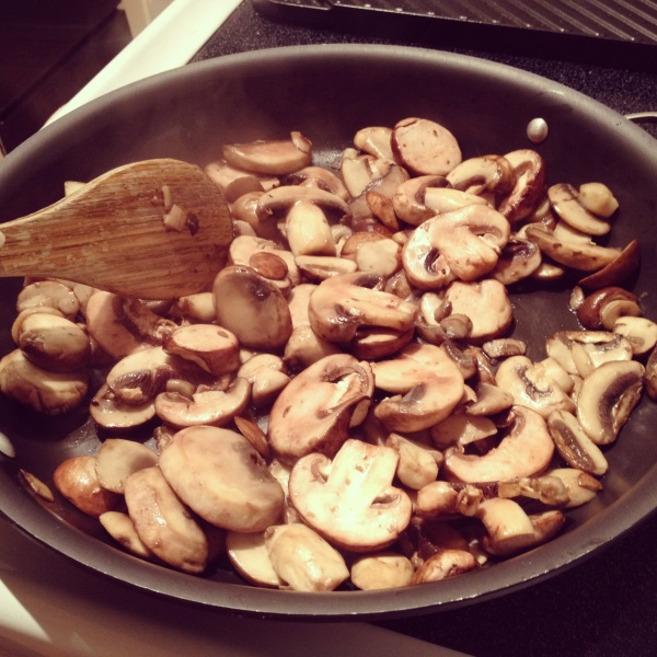 mushrooms saute