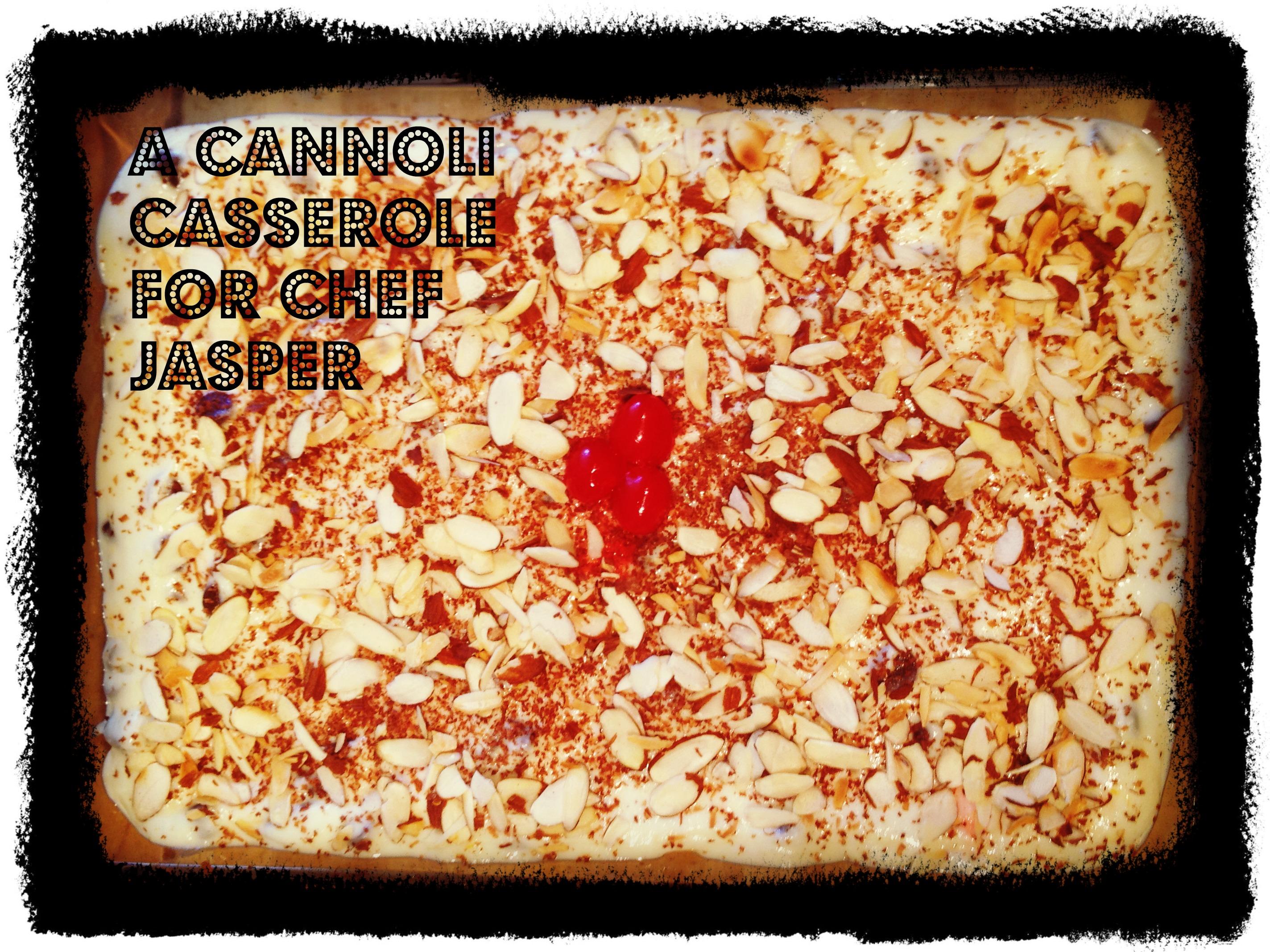 The Great Cannoli Casserole Challenge Casserole Queens